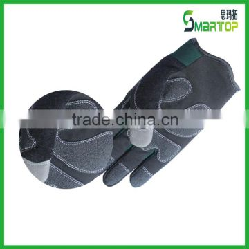 Synthetic leather PVC coated winter bike gloves
