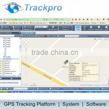 Web Based GPS Tracking System Server Software can manage MoralWin GT02,  GT06, P007, TK102, TK103, TK103B, TK104, TK106