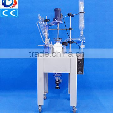 20L Laboratory high precision glass instrument for agitated reaction