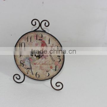 Antique Two Bird Home Decor Promotion Clock