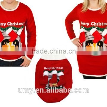 Pet Group, buy Matching Ugly Christmas Sweaters For Dog And
