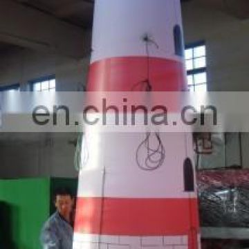 2015new design customized inflatable lighthouse