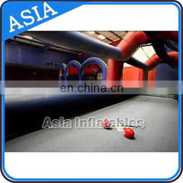 Portable Inflatable Mobile Tent , Inflatable Batting Cage For Paintball Playing Field