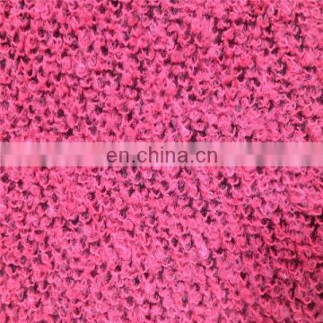 Shaoxing Onway Make-to-order 100% polyester weft knited plain printed sofa fabric sell hot in yemen