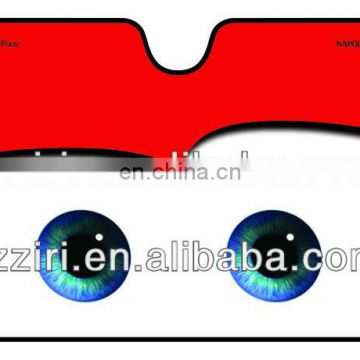 retractable car sunshade 130*60cm made of bubble