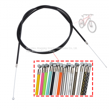 High-carbon steel 1.5 mm inner wire 5.0 mm custom brake cable for mountain bicycle