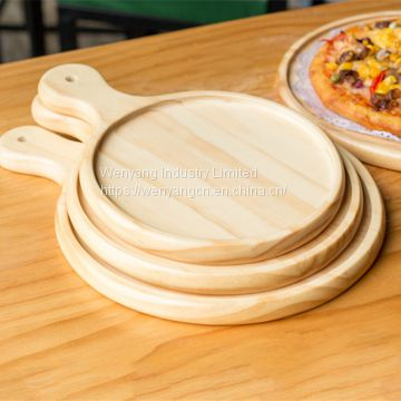 Cool Customize Solid Wooden Pizza Tray Wooden Pizza Board Of Machost Co Dining Chair Design Ideas Machostcouk