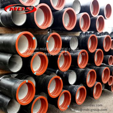 ductile iron flanged pipe class k12