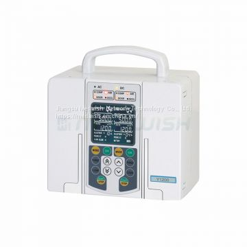 AG-XB-Y1200 Human Use Portable Hospital Medical Double-Channel IV Infusion Pump Price
