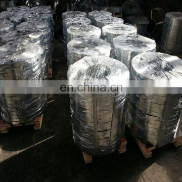 g550 zinc coating 50g/m2 galvanized steel strip with wooden pellet packing