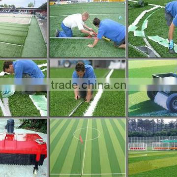 fake turf grass china factory Durable and curl stem yarn artificial turf