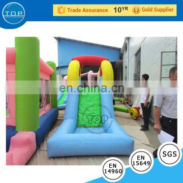 TOP INFALTABLES 2017 Popular Inflatable Slide with Bouncer