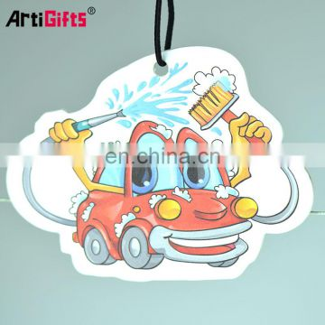 Hot selling custom hanging empty car scent air freshener bottle