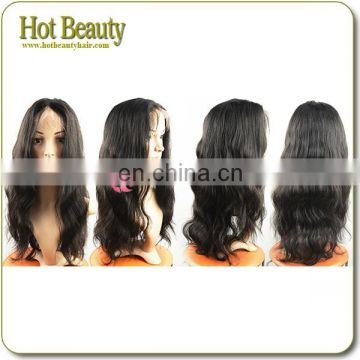 High Density Malaysian Virgin Lace Front Wigs