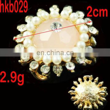 small crystal button decoration rhinestone button accessories