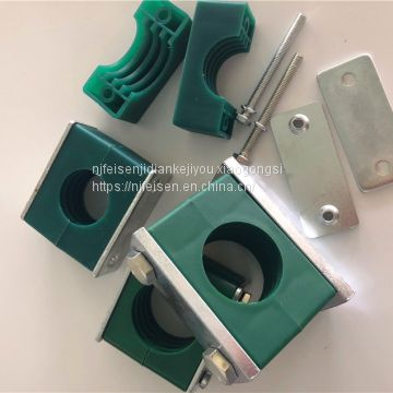 Supply high quality plastic pipe clamp tubing hydraulic pipe clamp