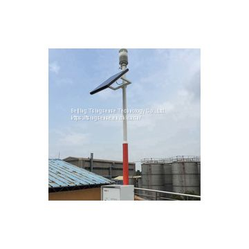 WTS600 outdoor integrated weather station with ultrasonic wind sensor