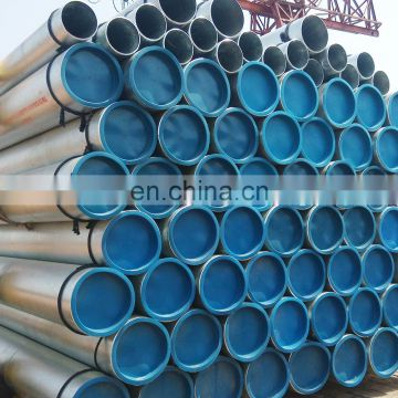Top sale schedule 40 galvanized steel pipe sleeves with high quality