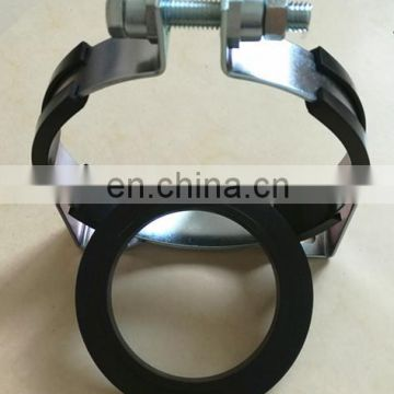 Hydraulic Accumulator Saddle Clamp with rubber support ring