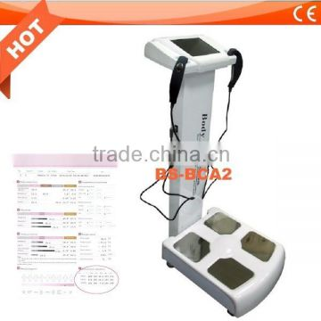 2015 Hot sale! body composition analysis machine /fat tester /provide analysis of health data