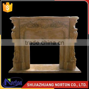 natural marble ethanol fireplace for indoor decoration NTMF-F518X
