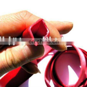 Polyester webbing for garments