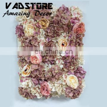artificial high silk quality flower wall for wedding backdrop or lawn/pillar road lead decoration
