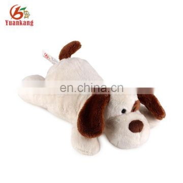 Personalized factory design lovely quite soft animal toy lying plush dog