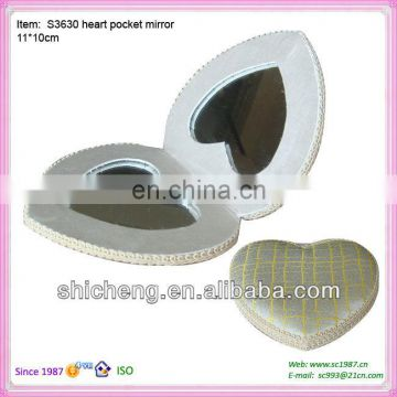 foldable small and fashionable pocket mirror for promotional gift with the best quality