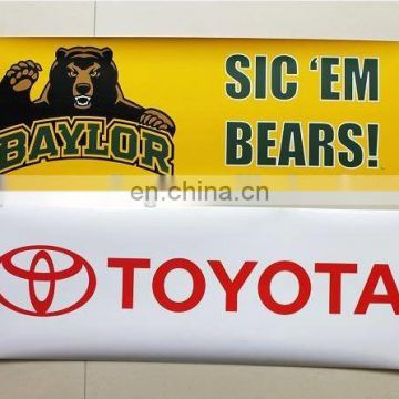hand held sport football scrolling banner