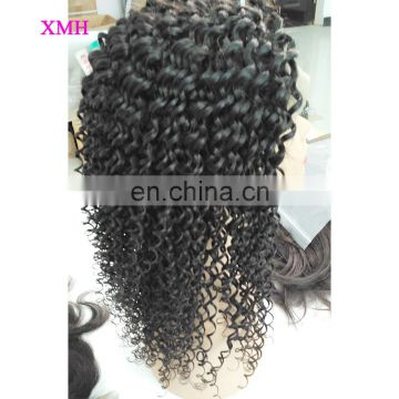 Wholesale Brazilian Human Hair Kinky Curly Full Lace Wigs lace wigs human