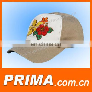 hot sell nice sports snapback baseball with flower on front