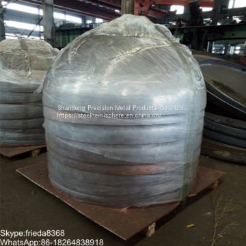 19mm to 1000mm hollow steel balls stainless steel hemispherical head 500mm hollow steel half ball