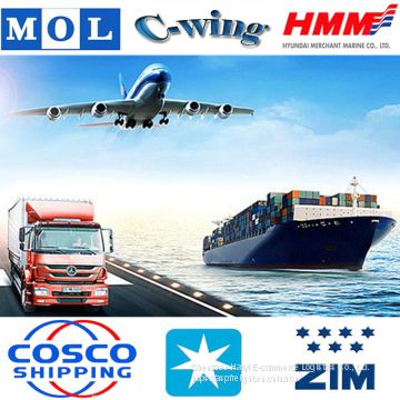 door to door shipping ,sea freight forwarder shipping rate