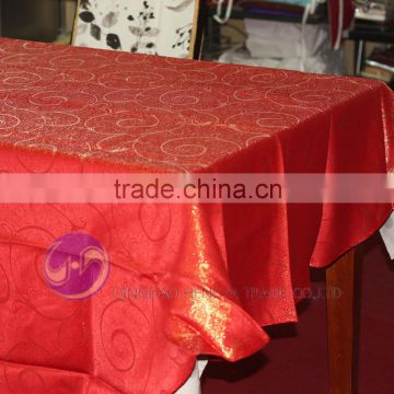 wholesale polyester round wedding table cloth