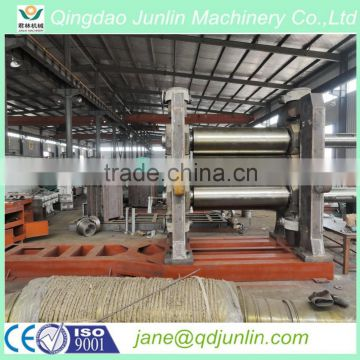 Three rolls rubber calender/3 roll Calendar Machine for coating rubber of cord thread and fabric