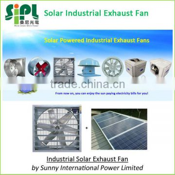 250 watt dia.810mm blades Solar Powered Industrial Use Wall Ventilating Ventilation Fan
