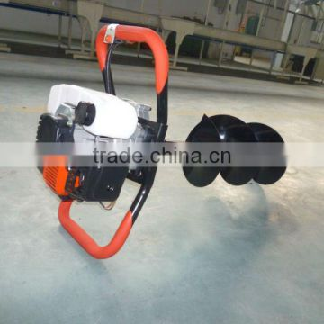 Gasoline Earth/Ice Auger/earth drill/49.9CC with CE/GS