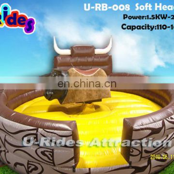 Soft Head Mechancial Bull Rodeo(U-RB-008)