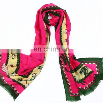 Fashion and Classical Hand Made Wool Scarf