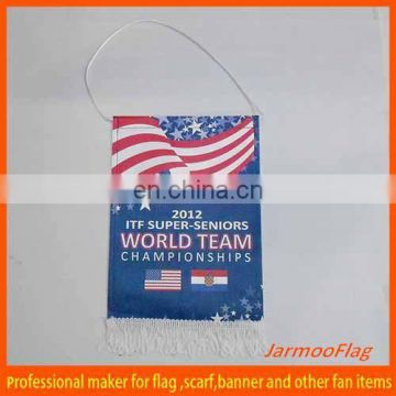custom promotion flag with string pennants