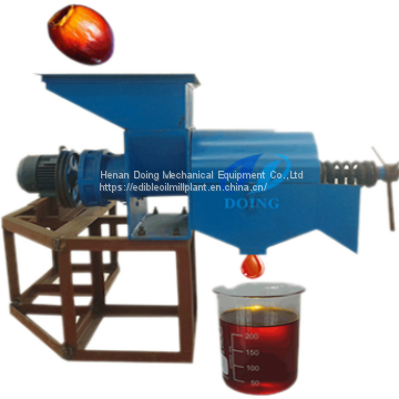 Small scale palm oil extraction machine