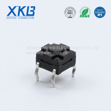 Customized Pin Type Waterproof 6*6 Stroke 0.35 Height Tact Switch