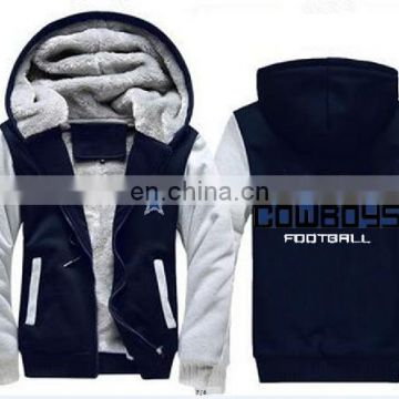 Pittsburgh Sublimated Football Team Men Women Thicken Jersey Football Soccerr Uniforms Hoodie Jacket Clothing Casual Coat