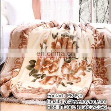 DIfferent designs stock cheap wholesale blankets