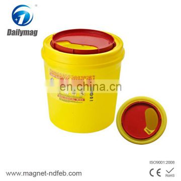 8L PP Plastic Tool Medical Waste Box for Medical Supplies