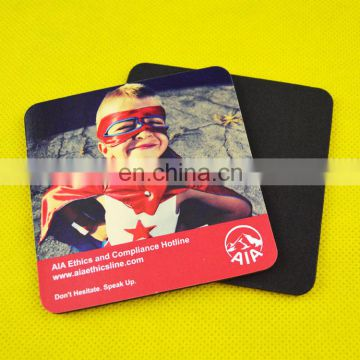 advertise square tea coaster set