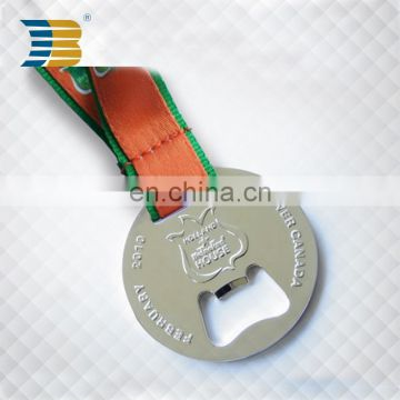 High quality custom medal with bottle opener