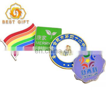Factory Wholesale All Kinds Of Button Pin Custom Metal Print Lapel Pin Badge