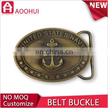 Hot iron MOQ 10 lion head belt buckle